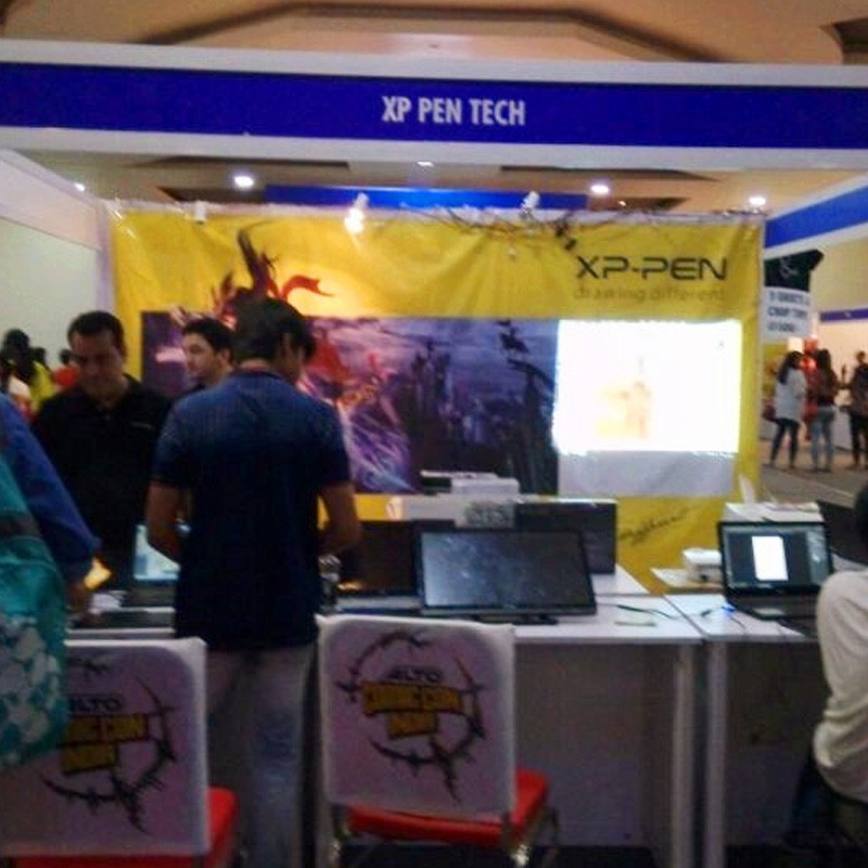 XP-Pen at Comic Con Pune in India