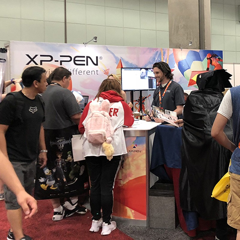 XP-Pen in Anime Expo 2018