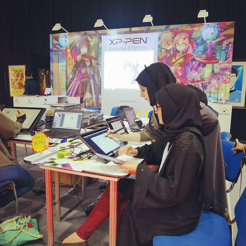 XP-Pen in MEFCC