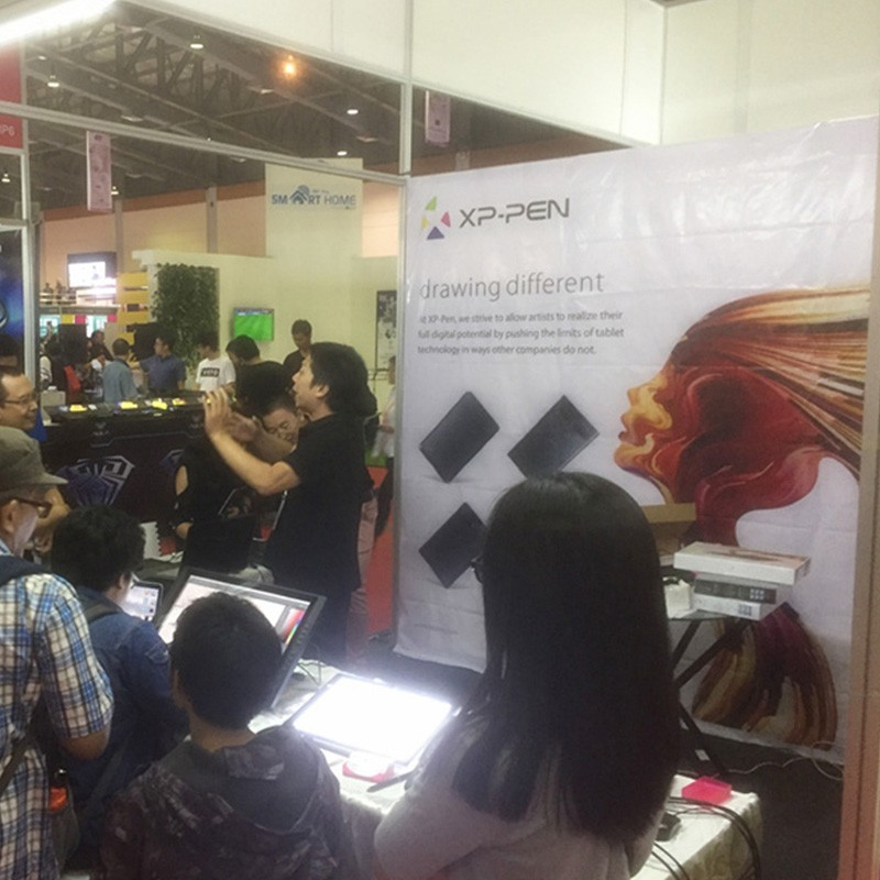 XP-Pen at Indocomtech Expo