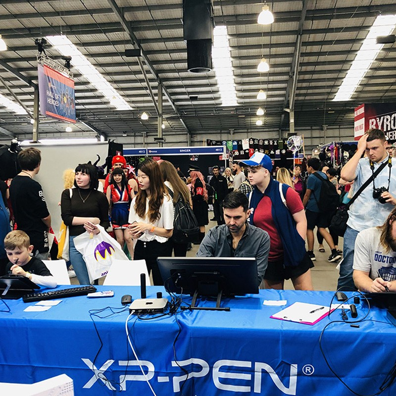 XP-Pen at Supanova Comic Con 2019