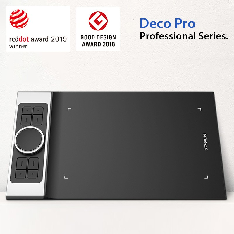XP-Pen Deco Pro Wins the 2019 Red Dot Design Award!
