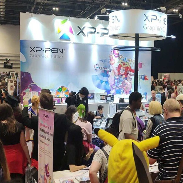 XP-Pen at MCM LONDON COMIC CON 2019