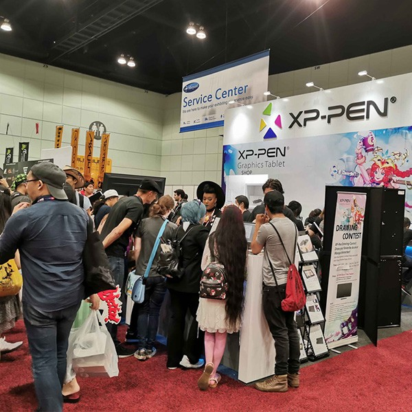 XP-Pen in Anime Expo 2019