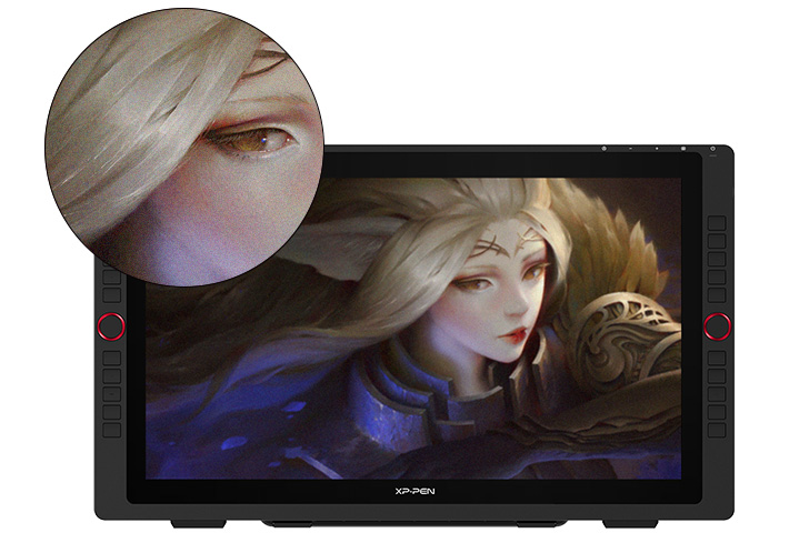 XP-Pen Artist 22R Pro drawing tablet with FHD 1920 X 1080 Resolution