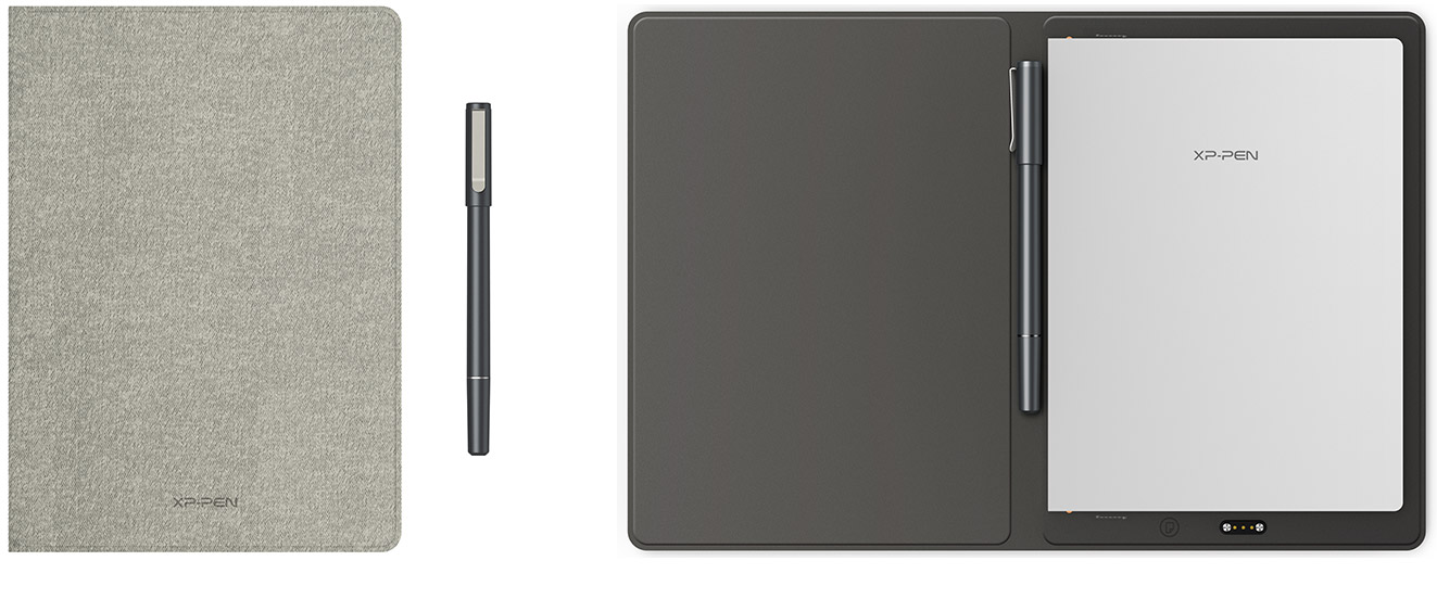 XP-Pen Note Plus Smart notepad stores up to 50 pages of offline notes