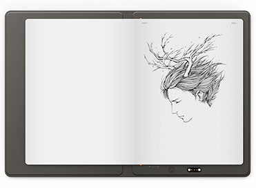 Representing the creative process and with one-click share with XP-Pen Note Plus Smart notepad
