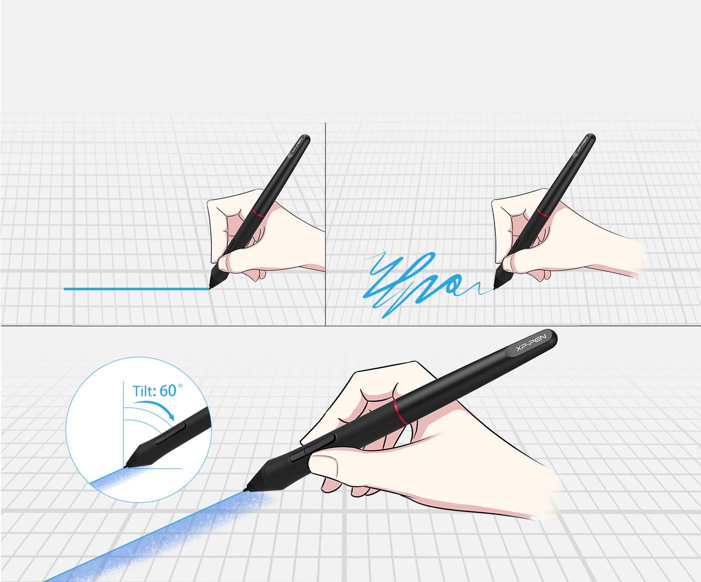 Artist 15.6 Pro Stylus with pen tilt