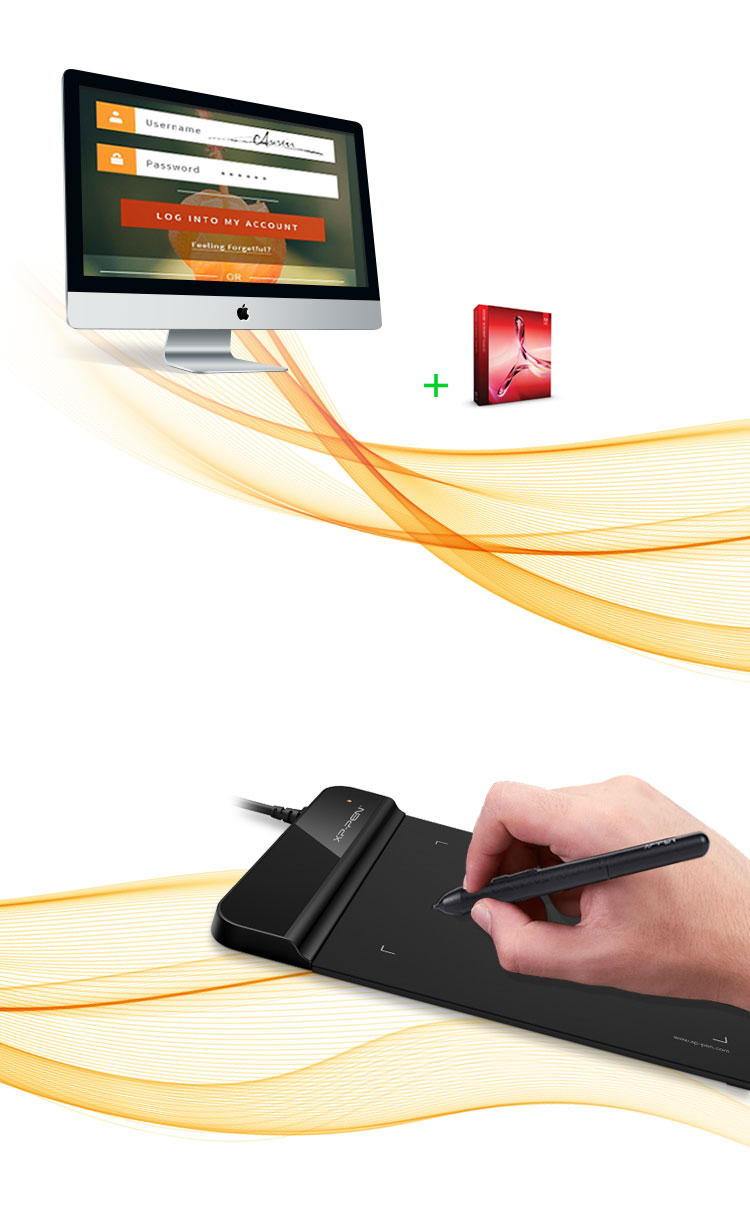XP-Pen Star G430 Drawing Pad for digital business signatures