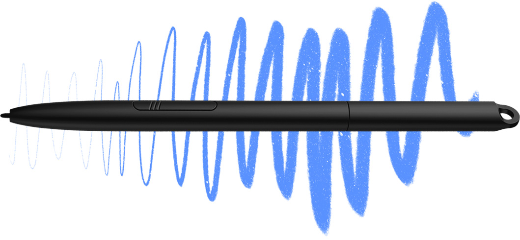 XP-Pen Star G960 digital drawing pad come With 8,192 levels of pressure sensitivity